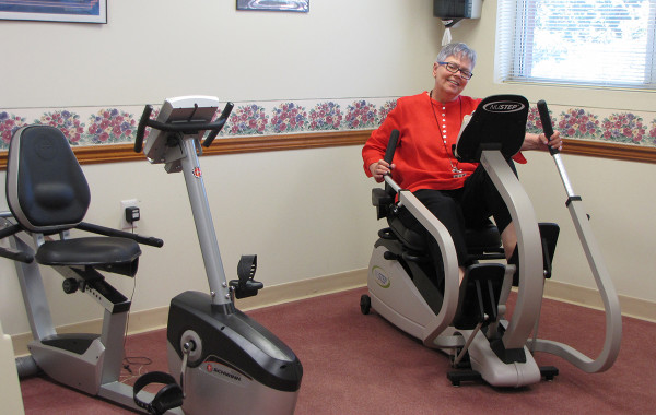 Exercise Rooms for Residents