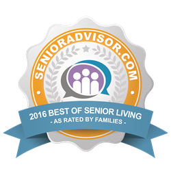 2016 Best Senior Living by SeniorAdvisor.com