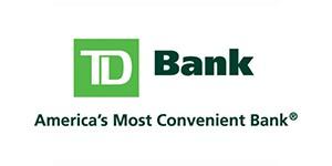 TD Bank Logo - Sponsor of Dominican Village's Annual Veteran's Luncheon 2015