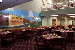 Dominican Village Dining Area Wall Art