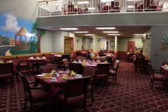 Dominican Village Dining Area