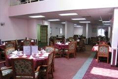 Dominican Village Dining Areas