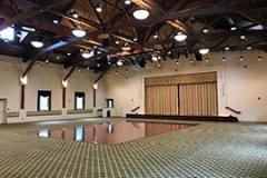 Helen Butler Hall Set Up For Concerts
