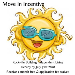 Move in incentive from Dominican Village