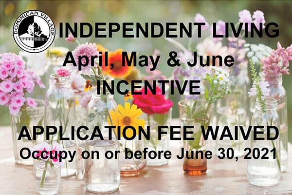 Spring 2021 Move in Incentive