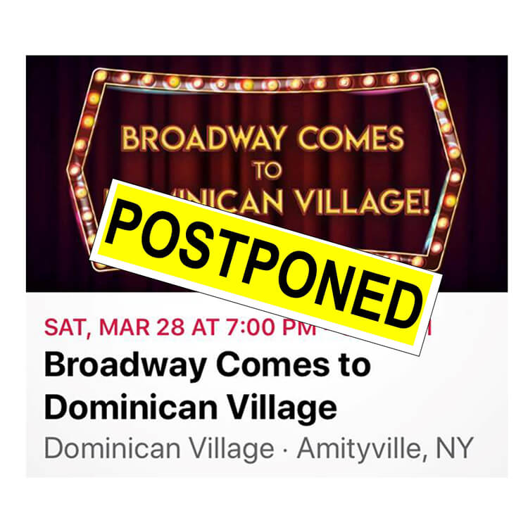 Dominican Village Broadway Show Postponed