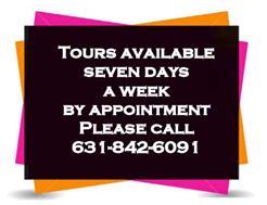 Dominican Village tours available seven days a week by appointment