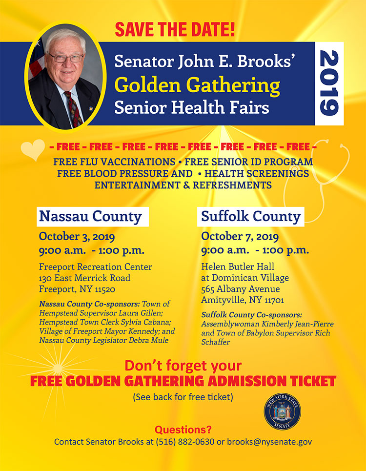 Senator John Brooks Golden Gathering 2019
