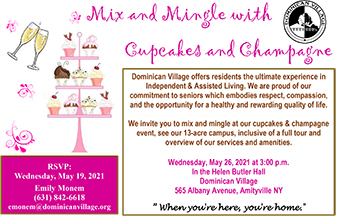 Mix and Mingle with Cupcakes & Champagne