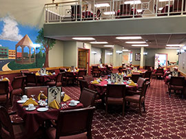 Dominican Village Dining Room
