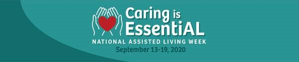 Caring is essential header