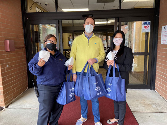 Meadowbrook Financial Corp raised funds to purchase four hundred N-95 masks