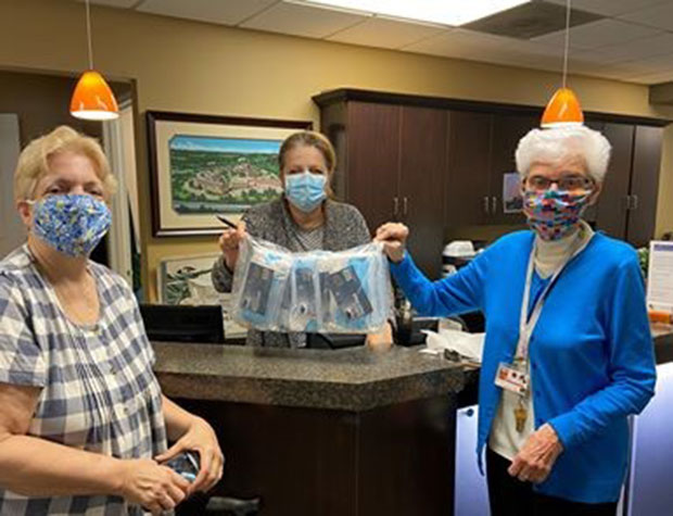 Medical masks donated to Dominican Village