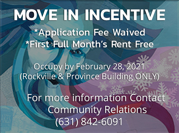 Dominican Village Move in Incentive December 2020
