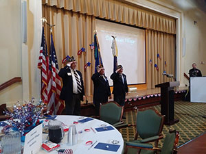 On November 8th Dominican Village hosted a very special luncheon for Veterans.